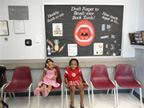 Kids Sitting in a Waiting Room